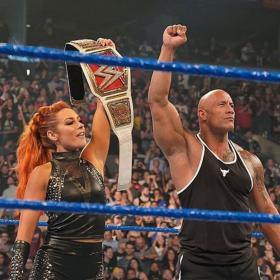 The Rock,WWE,Becky Lynch,Hollywood,WWE SmackDown
