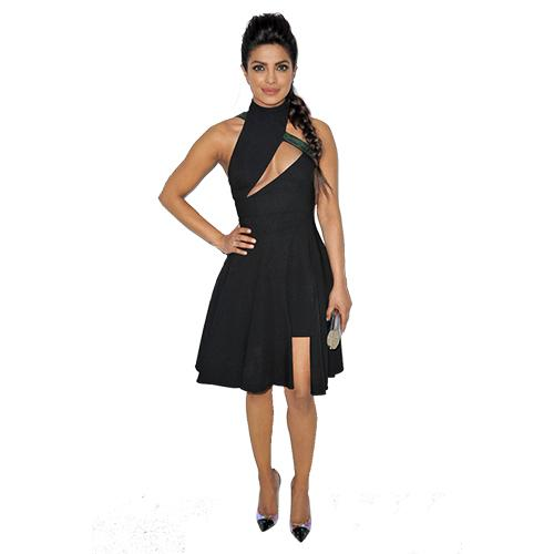 82803b8369b4e U.S. CROWN Black western party dress for women perfect for clubs and  cocktail parties