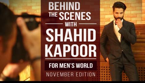 Pinkvilla goes behind the scenes with Shahid Kapoor
