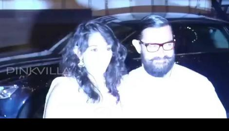 Spotted! Aamir Khan with daughter Ira at Imran Khan's christmas party