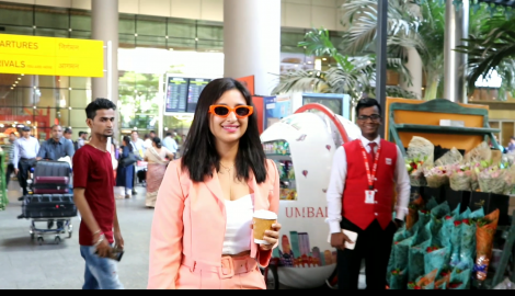 Parineeti Chopra gets spotted at the airport as she returns from Goa