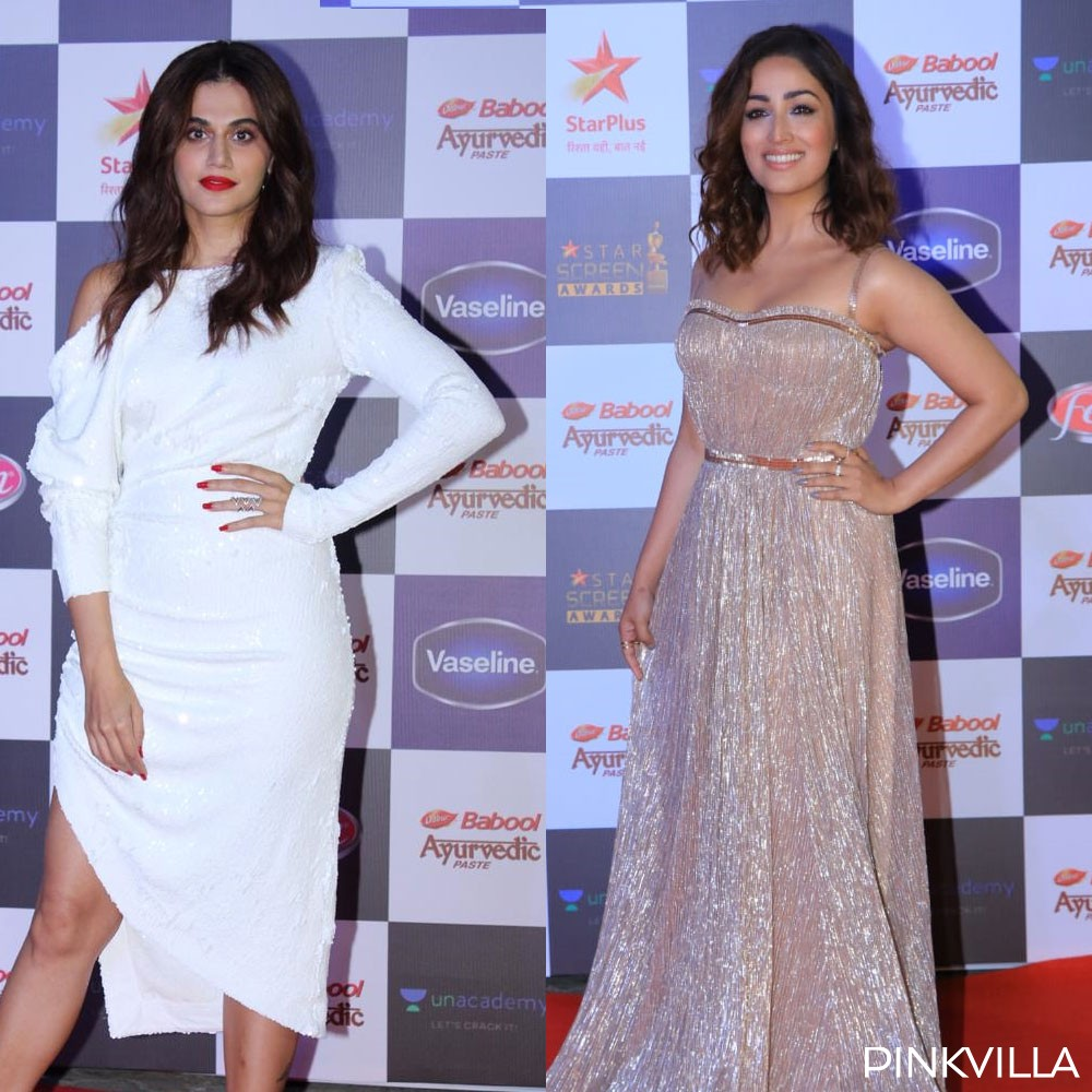 PHOTOS: Taapsee Pannu and Yami Gautam set the temperatures soaring at an event