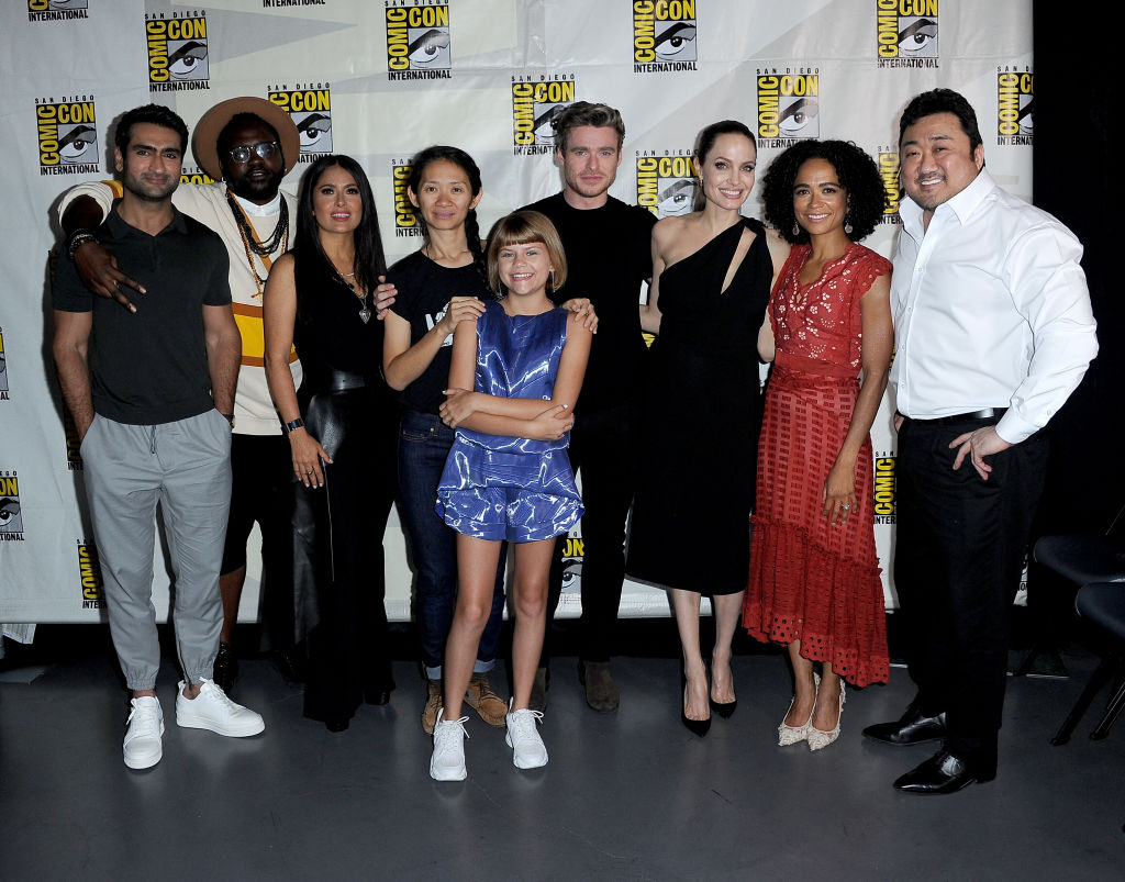 The Eternals at CCXP19: Angelina Jolie & Richard Madden film's first footage details LEAKED; Deets Inside