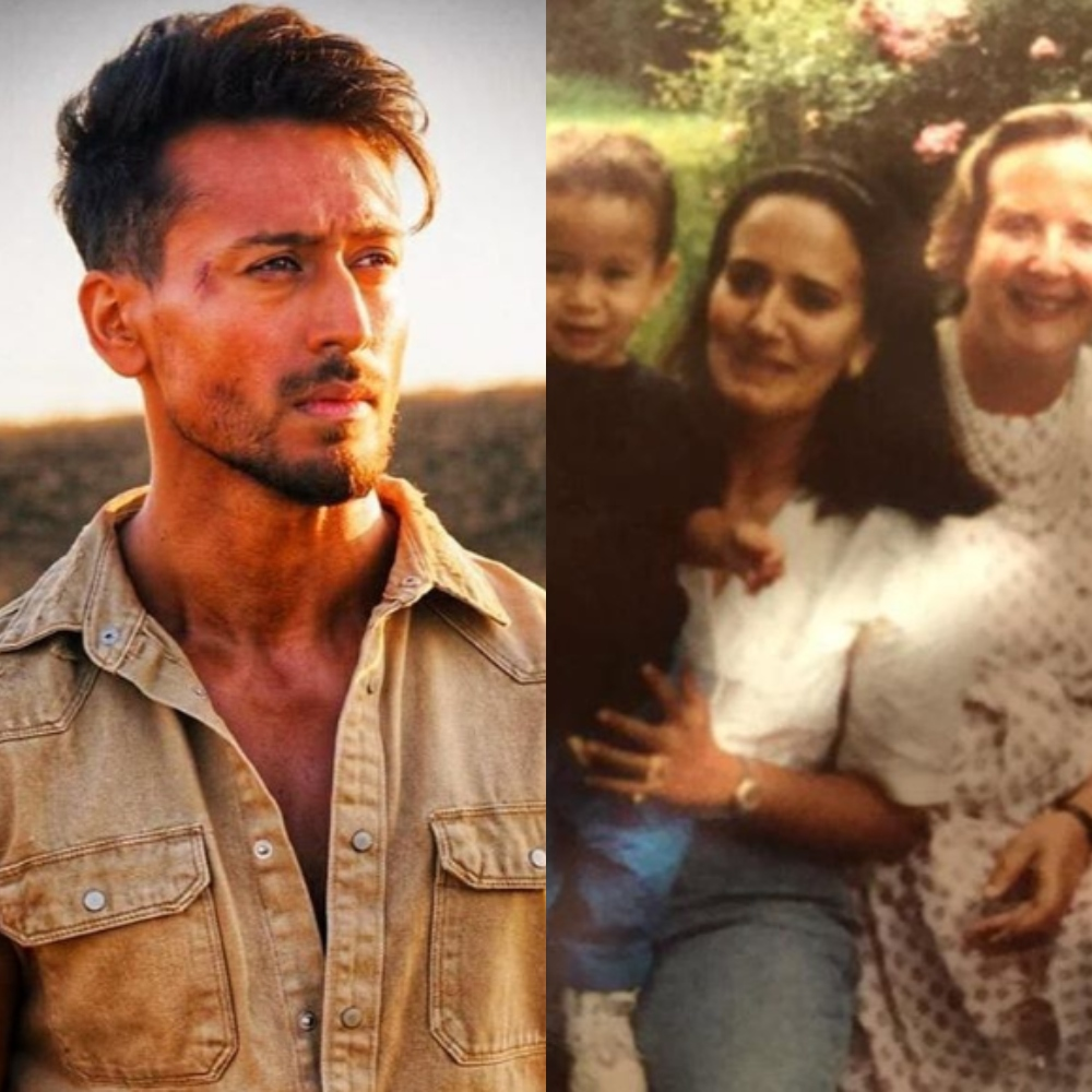 Tiger Shroff's mother Ayesha shares a childhood PIC of the actor; pens down an emotional note
