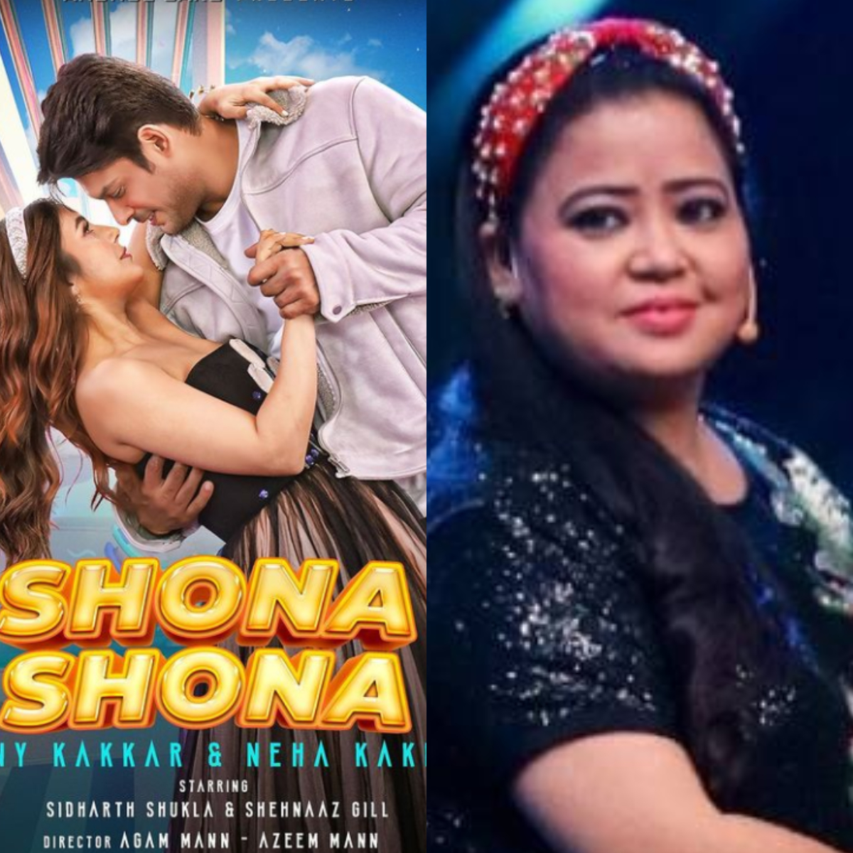 TV Newsmakers Of the Week Bharti Singh and hubby's arrest to SidNaaz's song Shona Shona's poster