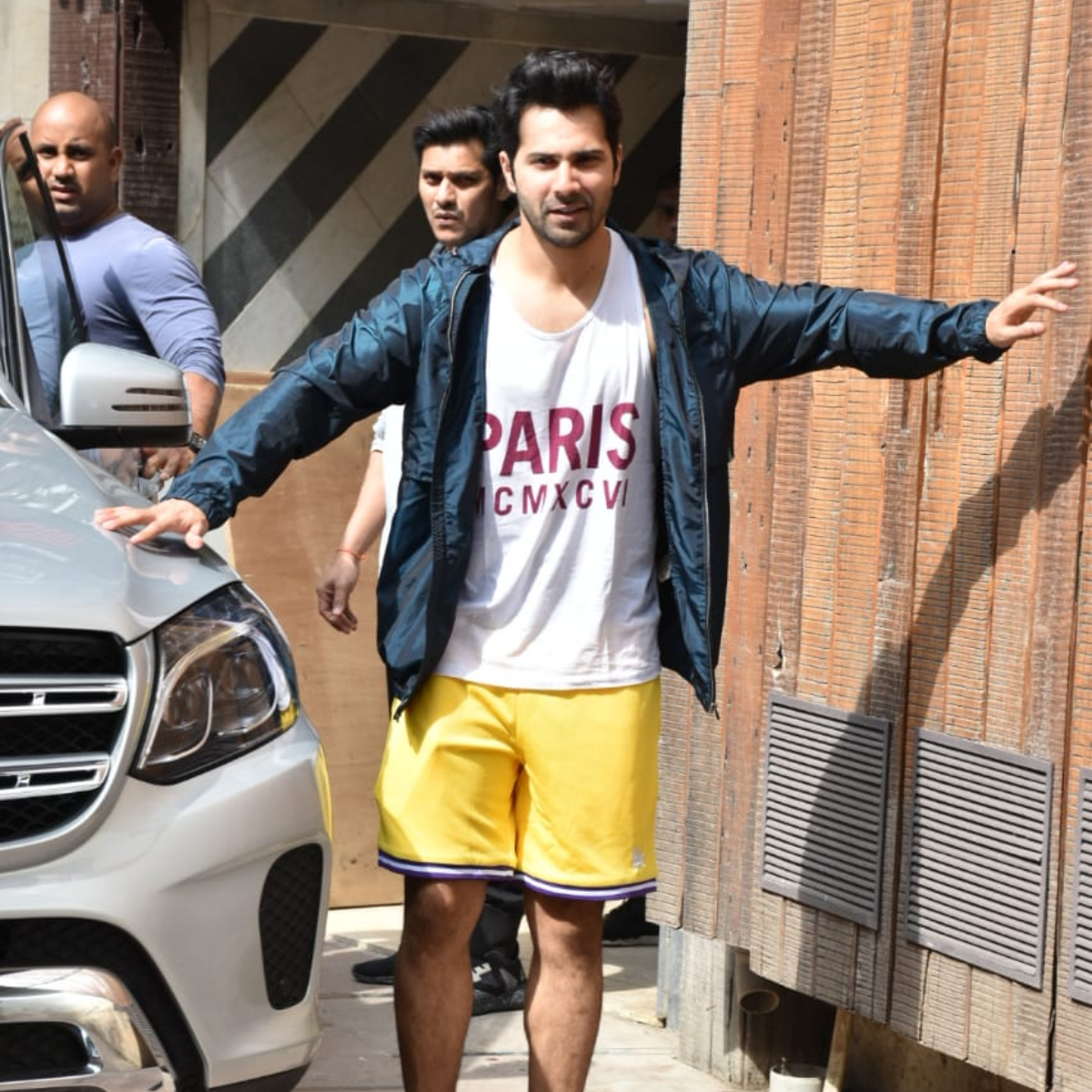 PHOTOS: Varun Dhawan completely nails his casual athleisure as he goes out and about in the city