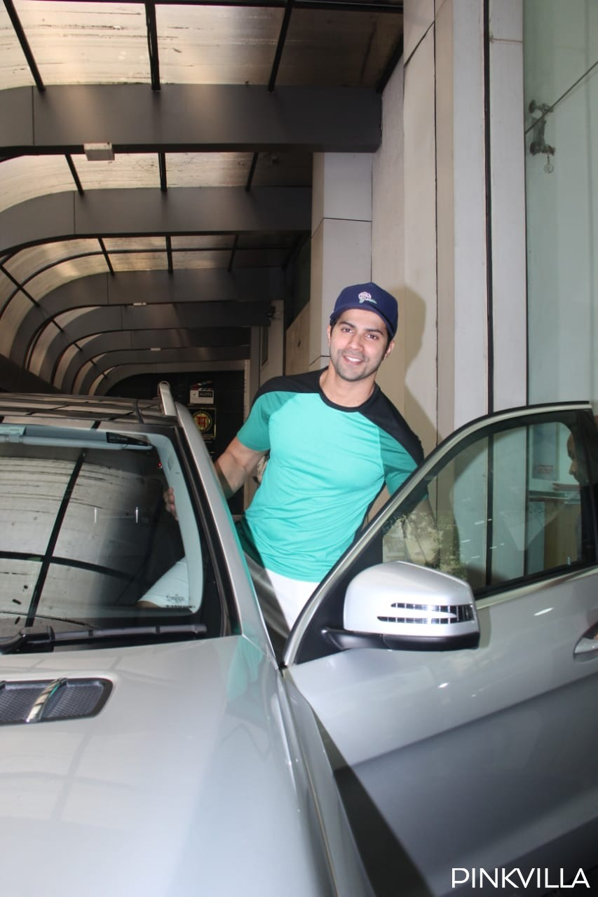 PHOTOS: Varun Dhawan keeps it cool and classy as he steps out post his gym session