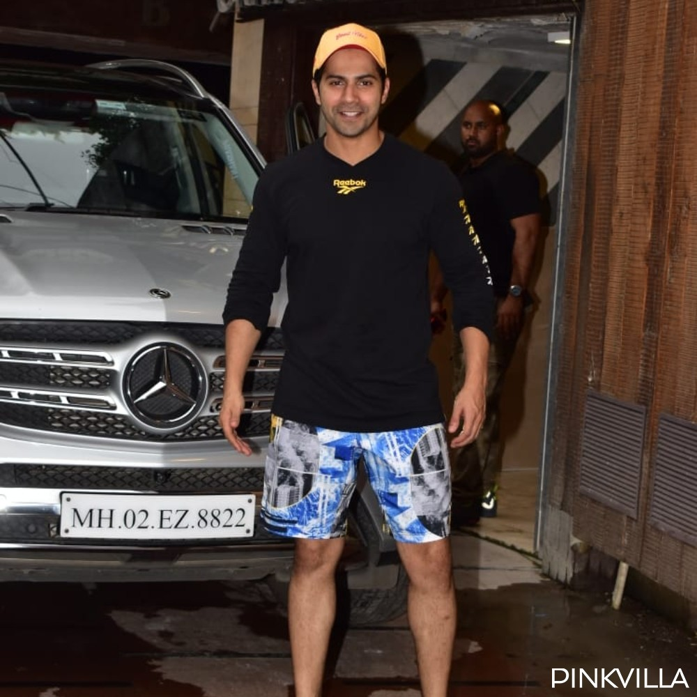 PHOTOS: Street Dancer 3D actor Varun Dhawan looks happy & content as he steps out of the gym