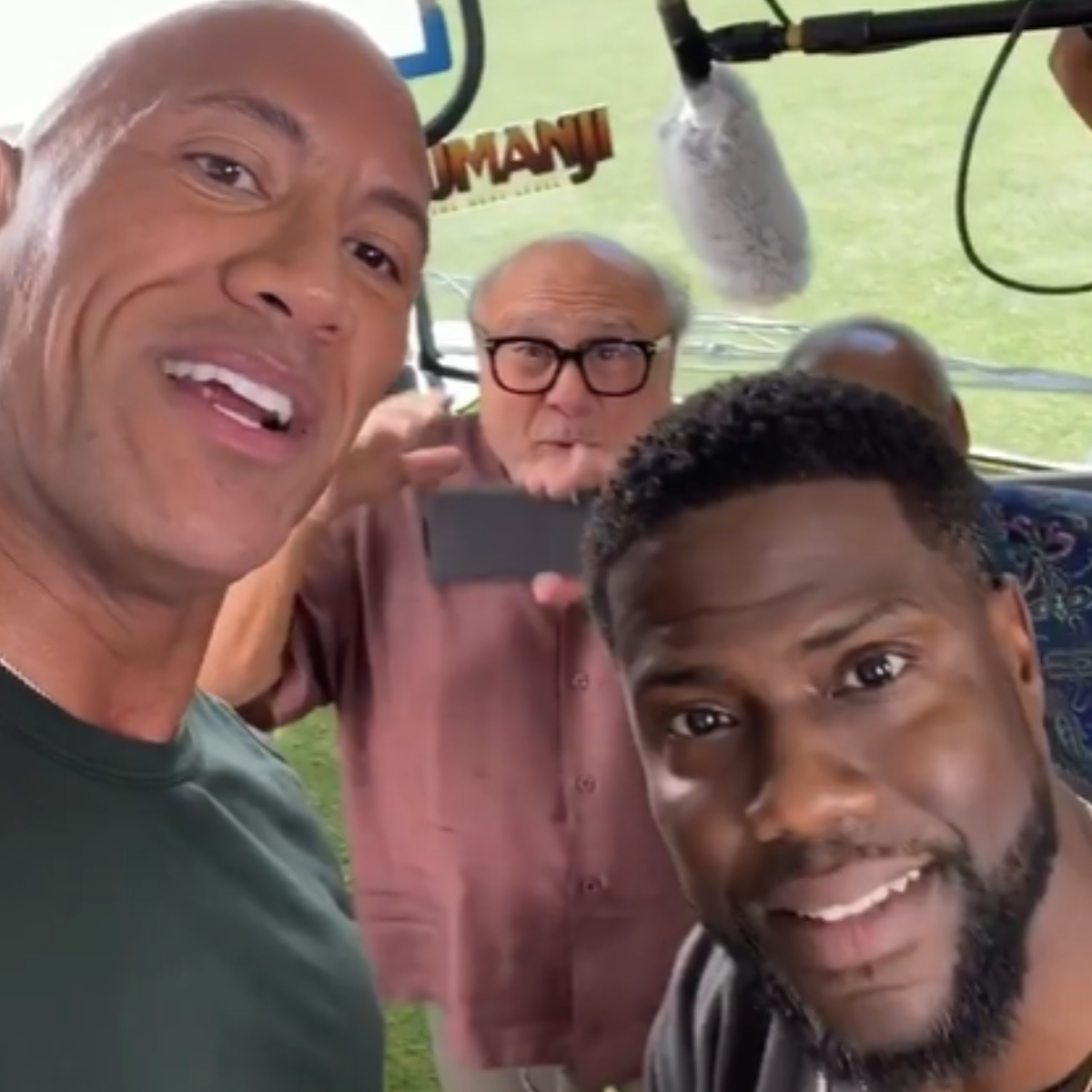 WATCH: Jumanji: The Next Level stars The Rock, Kevin Hart are back at it with their hilarious banter in Mexico