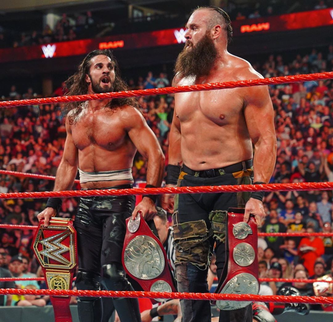 WWE RAW Results: Seth Rollins and Braun Strowman are the new Tag ...