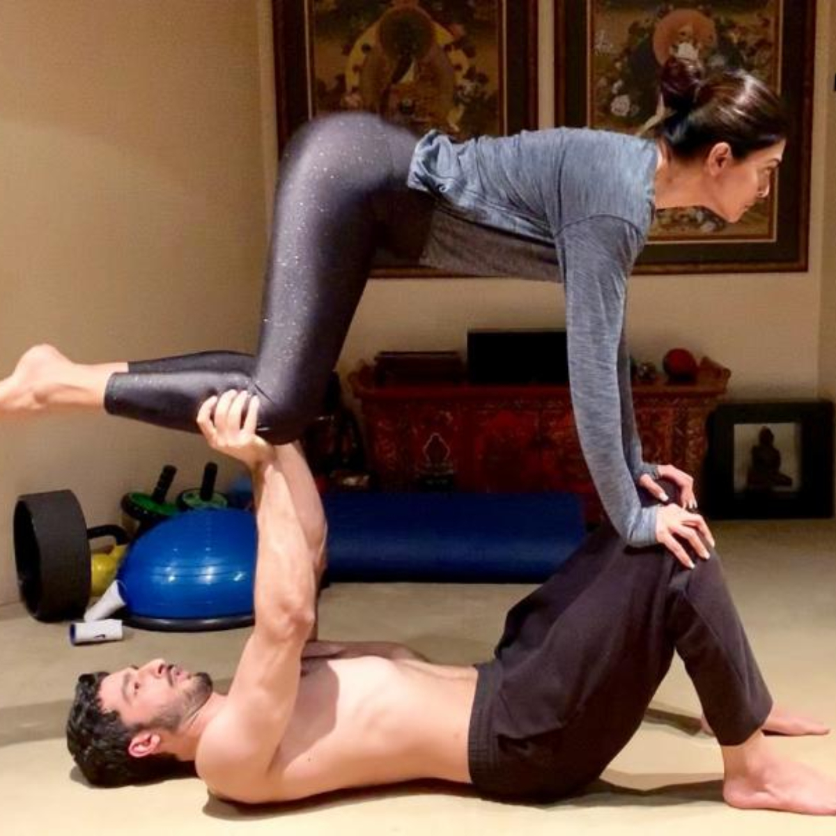 37 Yoga poses for couples to build intimacy and strengthen your