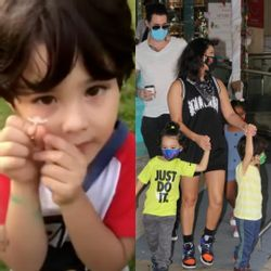 Sunny Leone's son Noah complains to his father; Refuses to leave mall with his twin.